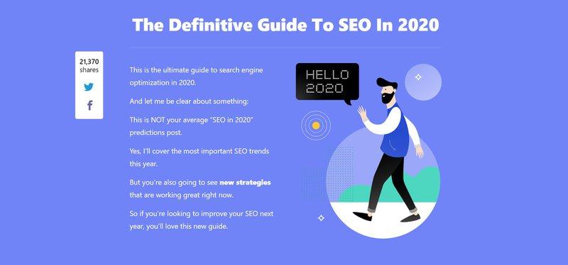 backlinko SEO Guide description