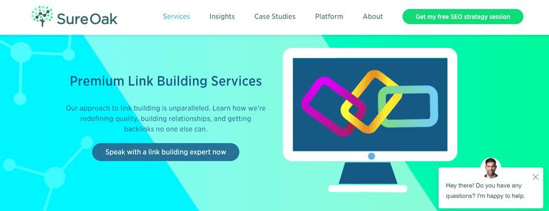 Sure Oak's link building services