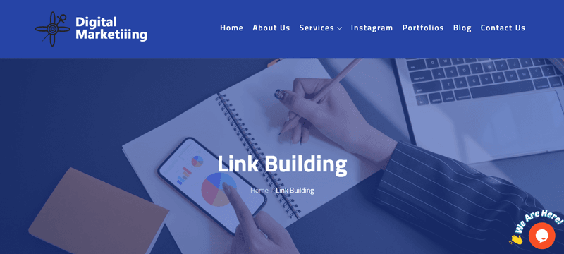 Digital Marketiiing- link building service